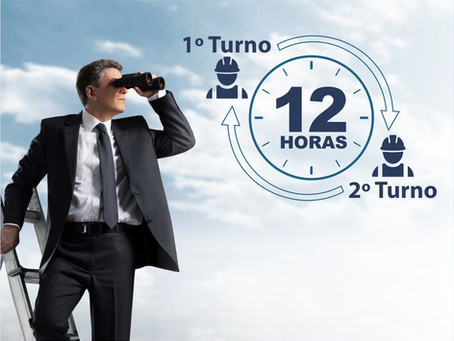 Regime de Trabalho de 2 Turnos de 12 Horas - Uma Oportunidade Ímpar
