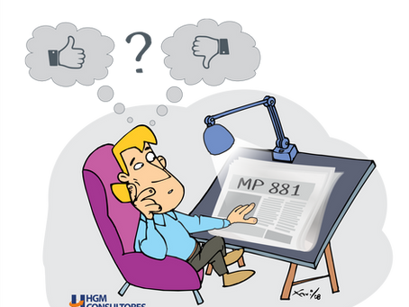 Alerta! Trabalho aos Domingos - Uma boa e uma má notícia (MP881/19)