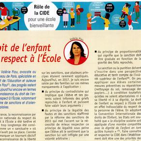 Droit de l'enfant au Respect à l'École