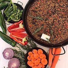 Paella de verdures i bolets