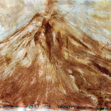 Gunung Sumery Jawa Indonesia