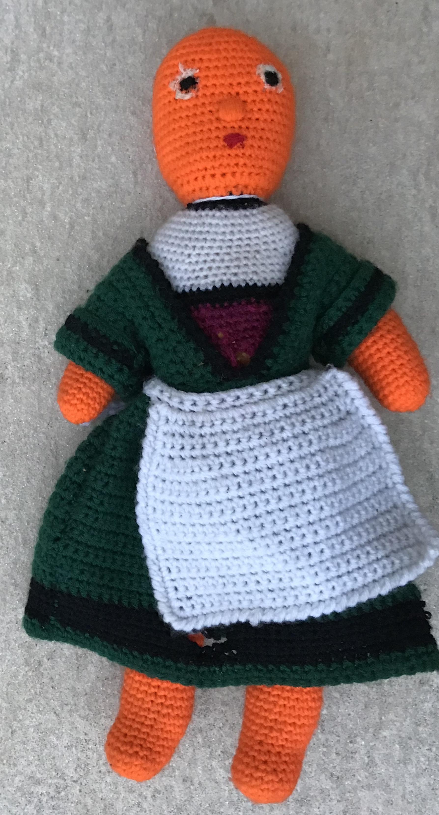 Becassine en tricot