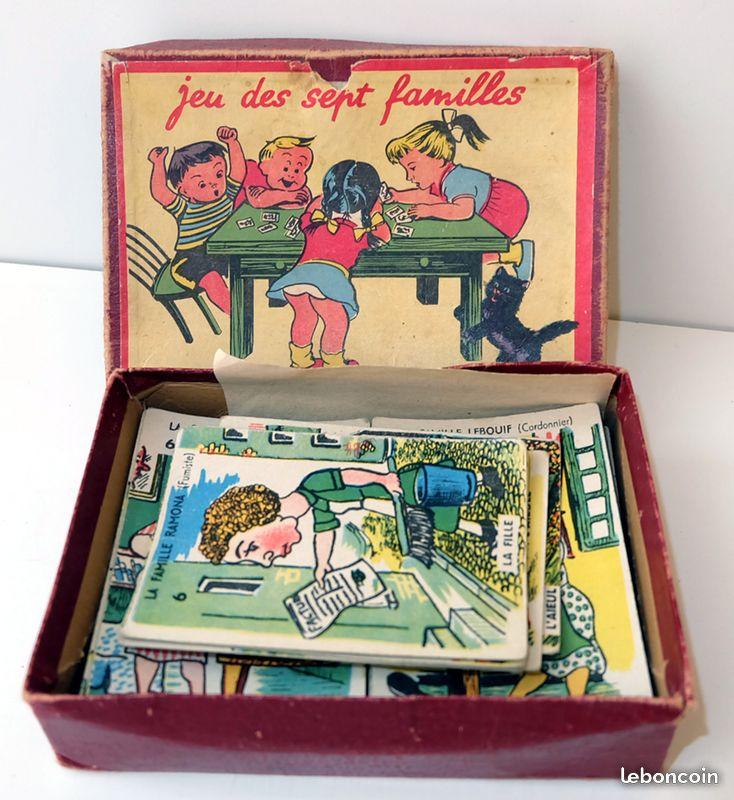 Jeu de cartes des 7 familles