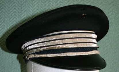 Casquette capitaine de police de sortie