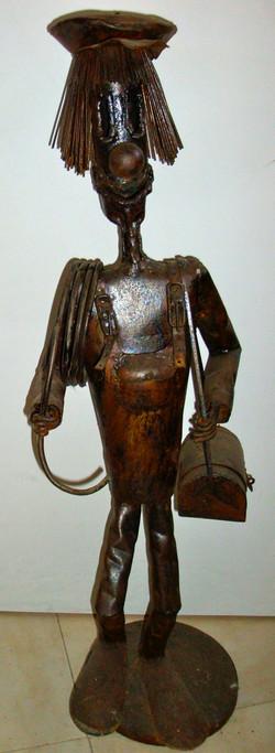Sculpture du plombier