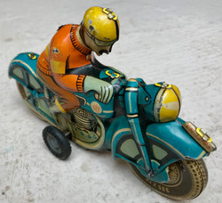 Jouet moto métal à friction