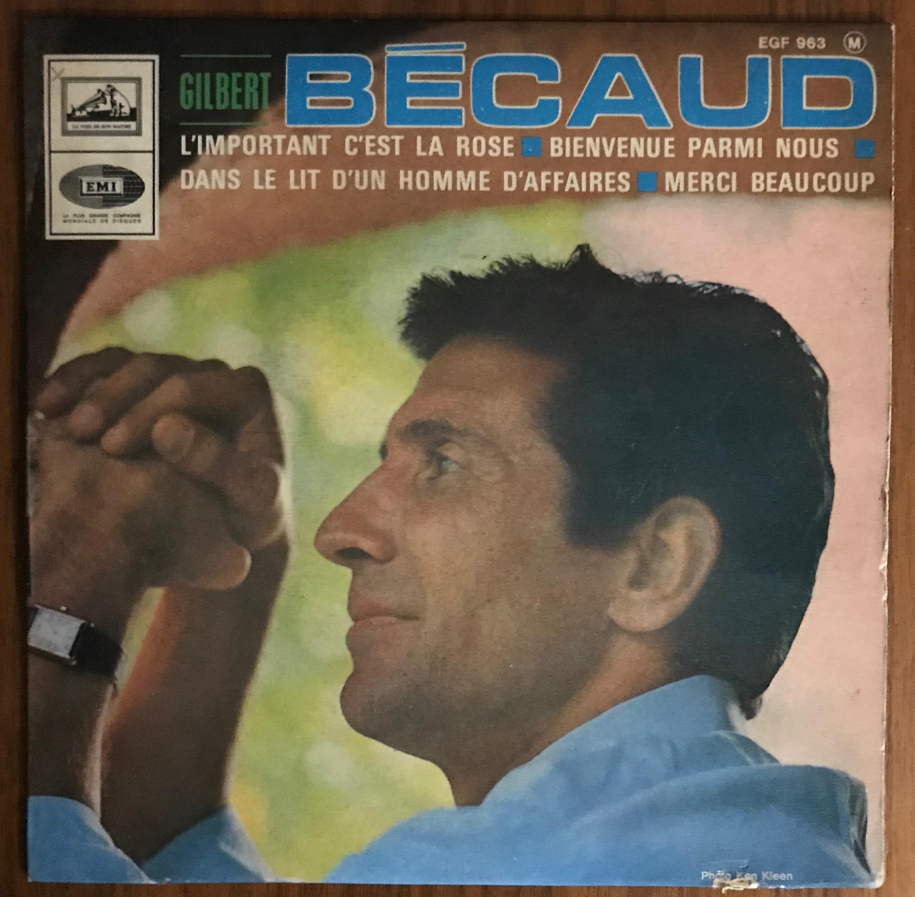 Disque Gilbert Becaud