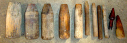 Mandrins en bois