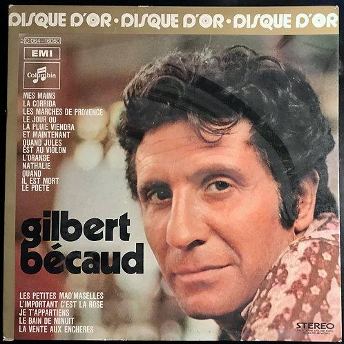 Disques vyniles Gilbert Bécaud