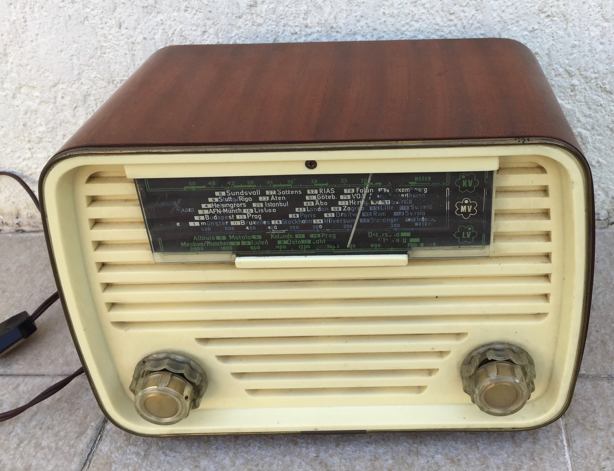 Poste TSF Luxor radio
