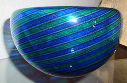 Coupelle en verre de Murano