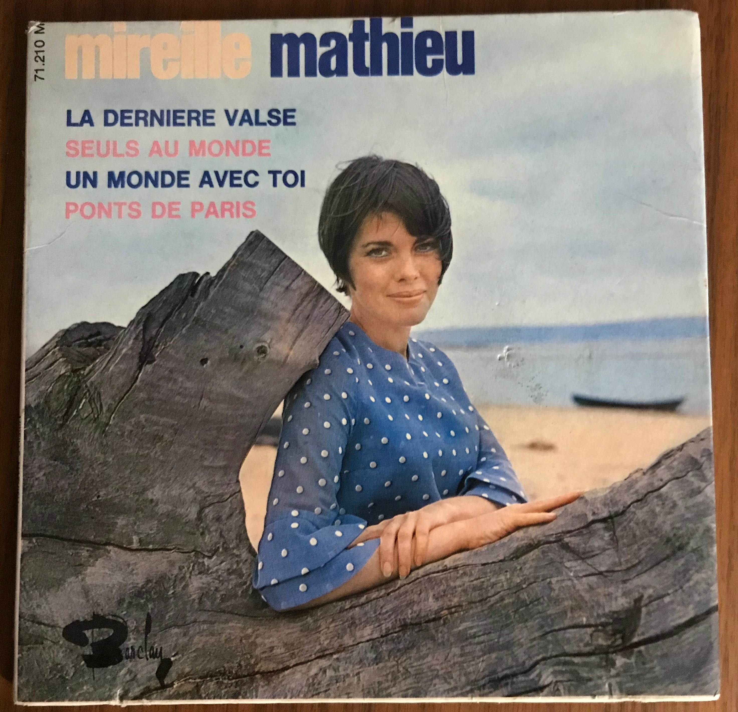 Disques vyniles  Mireille Mathieu