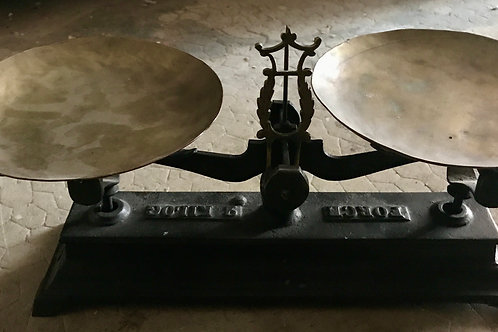 Balance Roberval acier
