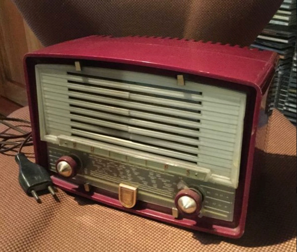 Poste radio TSF Philipps