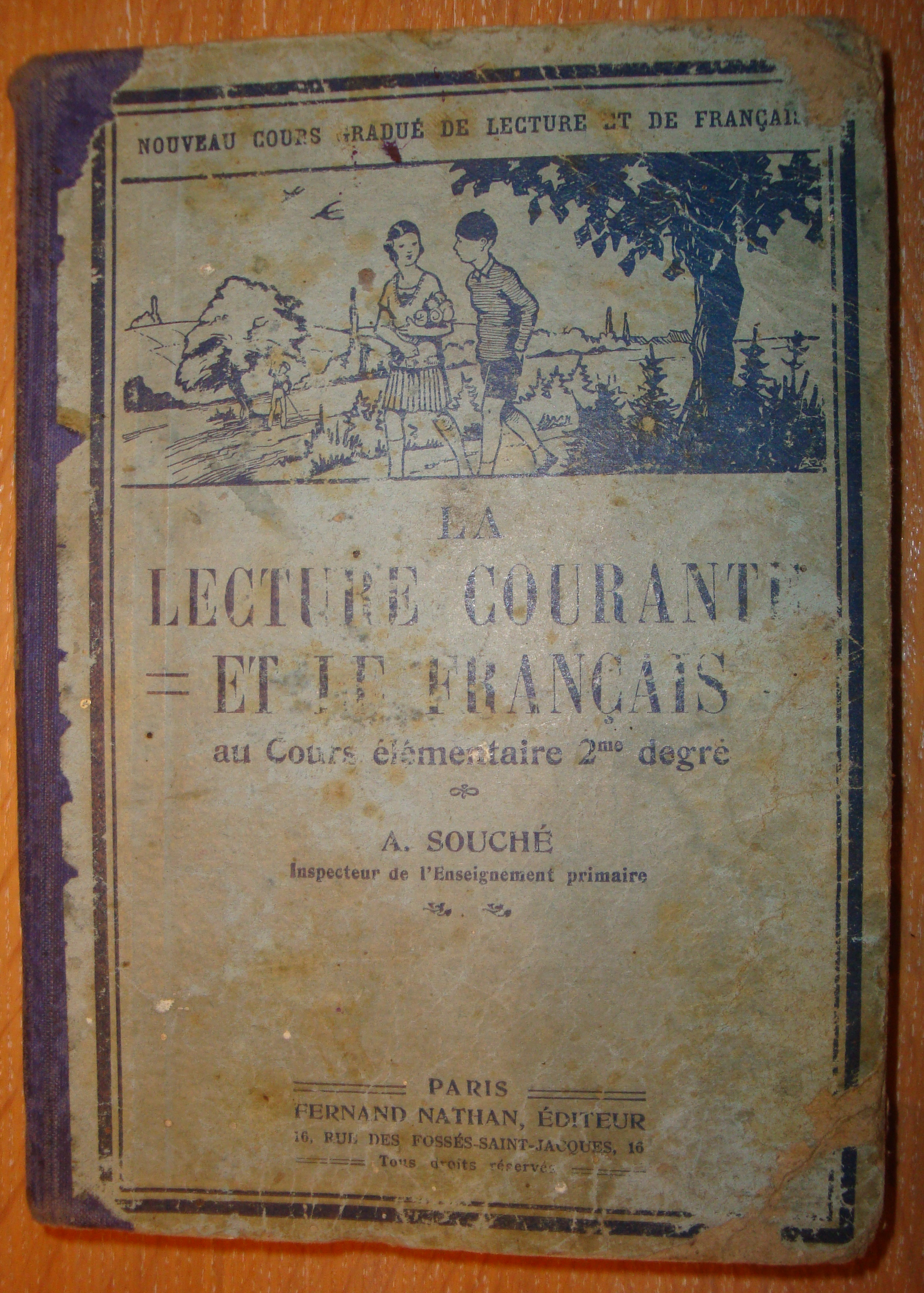 Livre scolaire Lecture