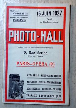 Notice appareil photo 1927