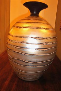 Vase en poterie design