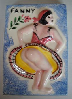 Fanny en porcelaine
