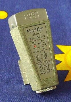 Camera Movikon viseur Movitelar 320mm 15