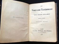 Livre le nouveau testament