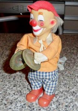 Jouet clown automate