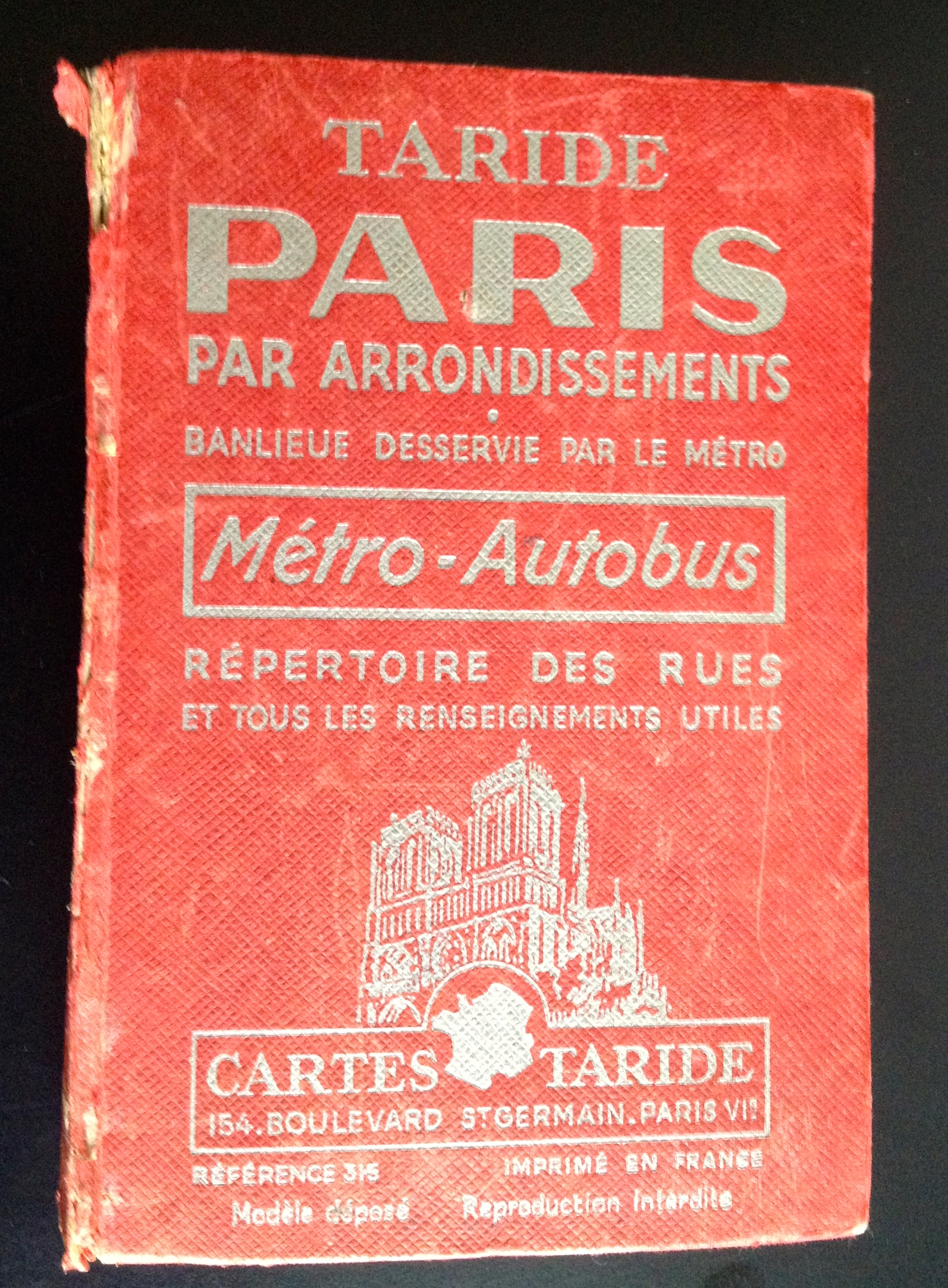 Plan de Paris 1966
