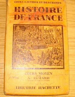 Livre scolaire histoire de France