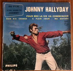 Disque vynile Johnny Haliday