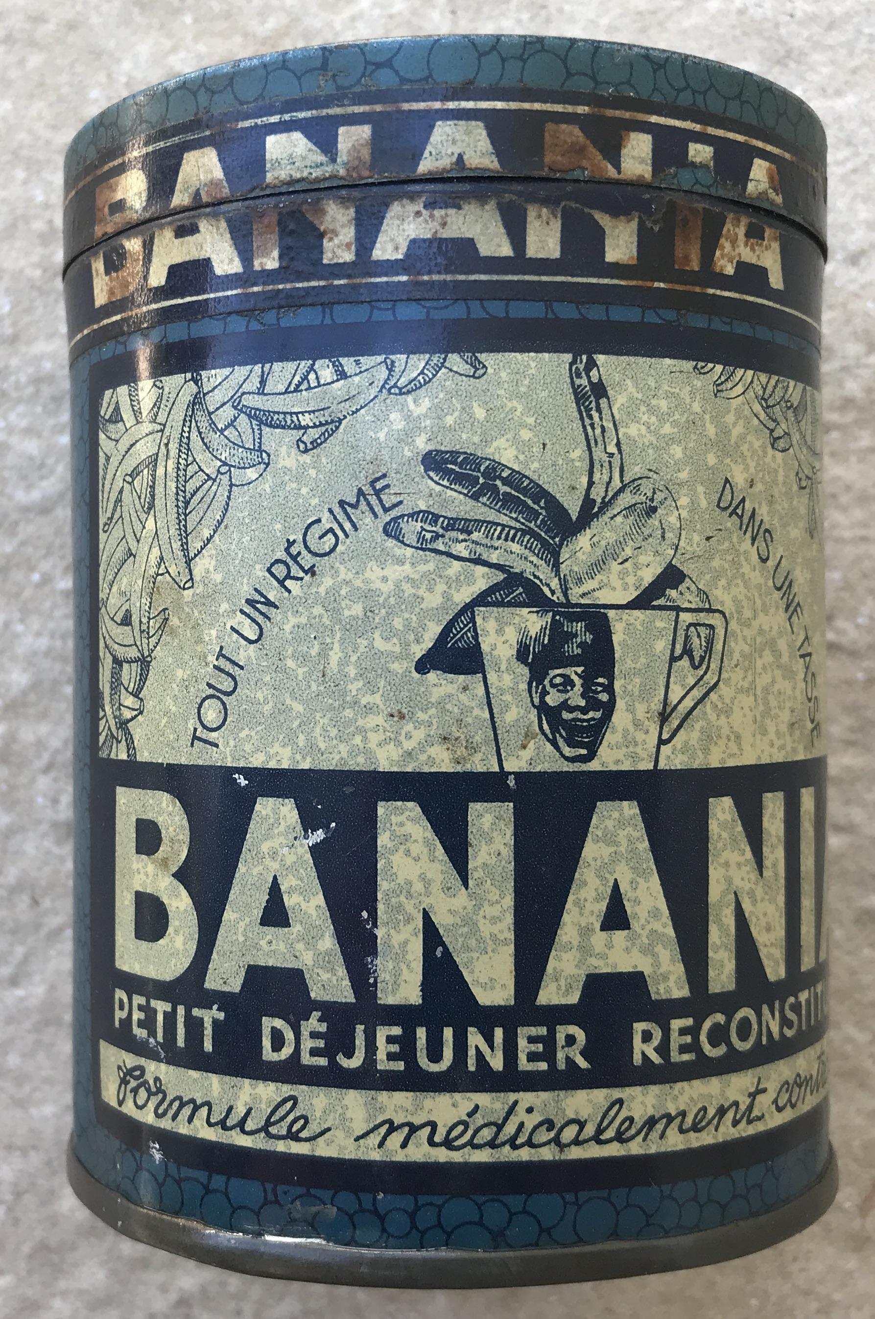 Boite métal Banania