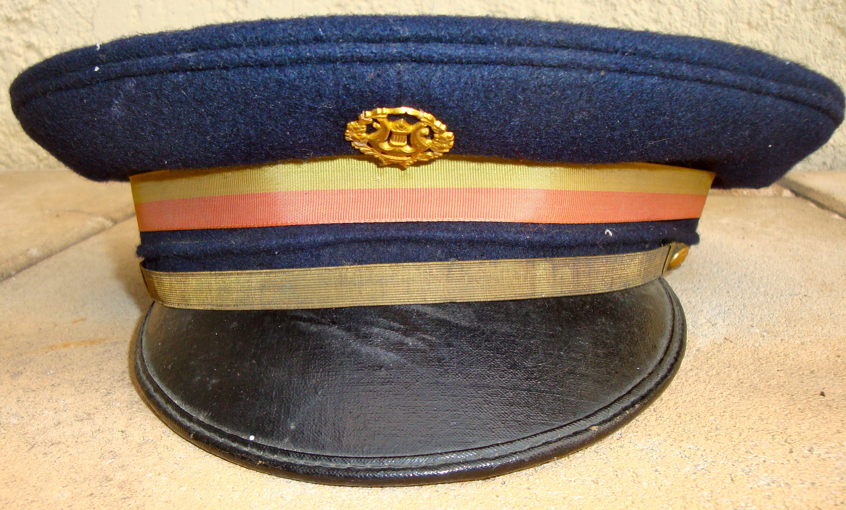 casquette musicien militaire