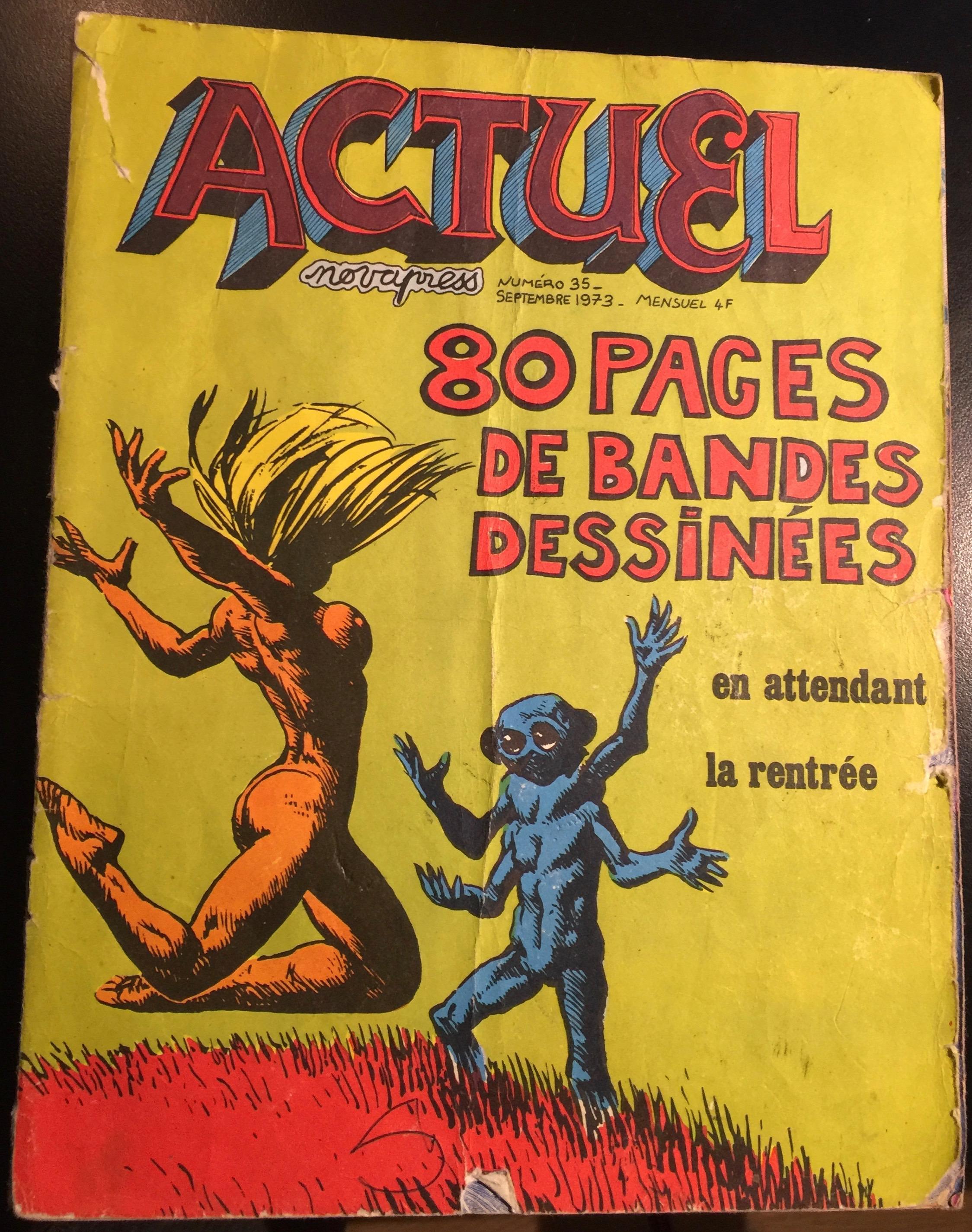 Magasine satyrique Actuel