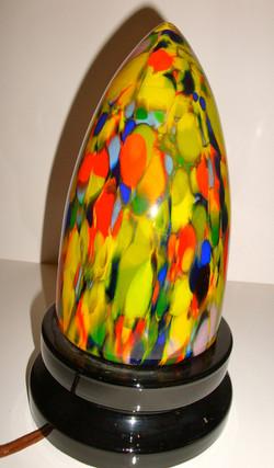 Lampe obus Art Déco