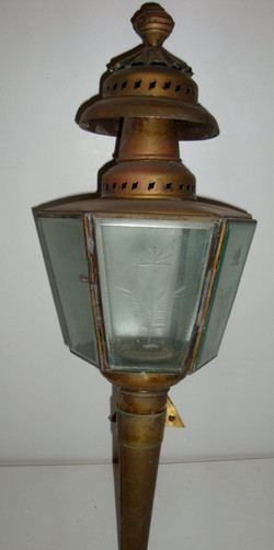Lanterne en laiton