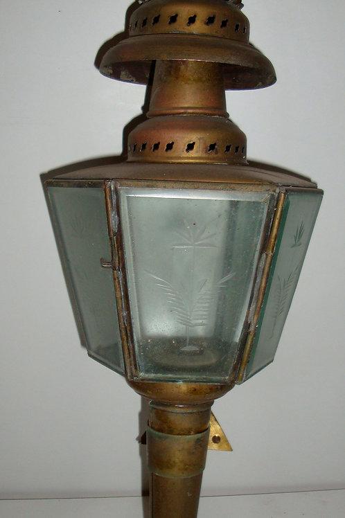 Lanterne fiacre flambeau