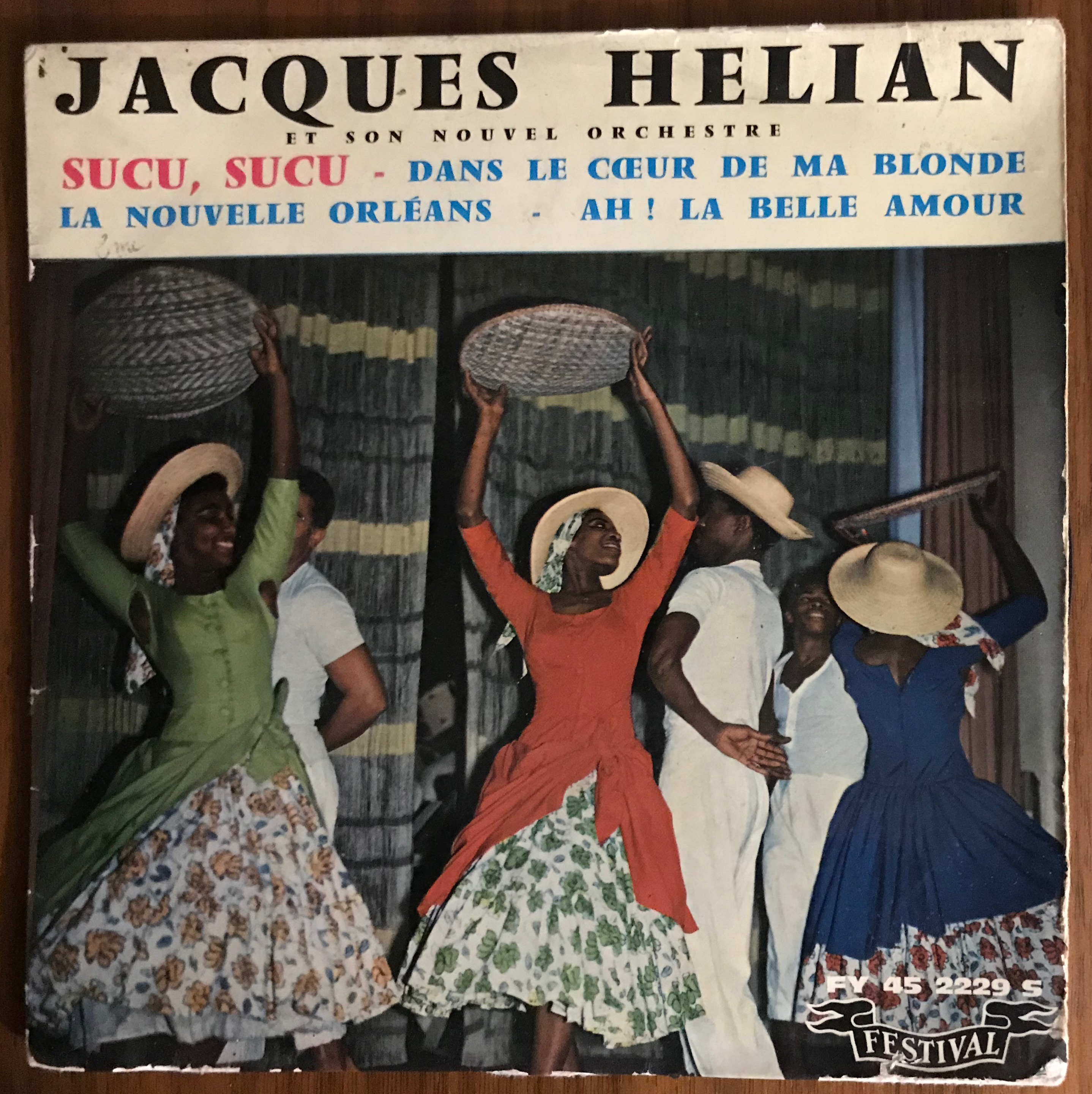 Disque vynile jacques Hellian