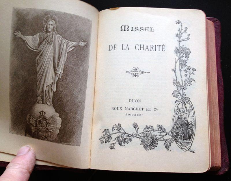 Livre Missel de la Charité