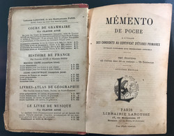 Livre Larousse Memento poche