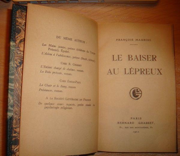 Livre François Mauriac