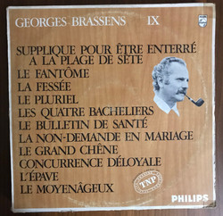 Disque Vynile Brassens