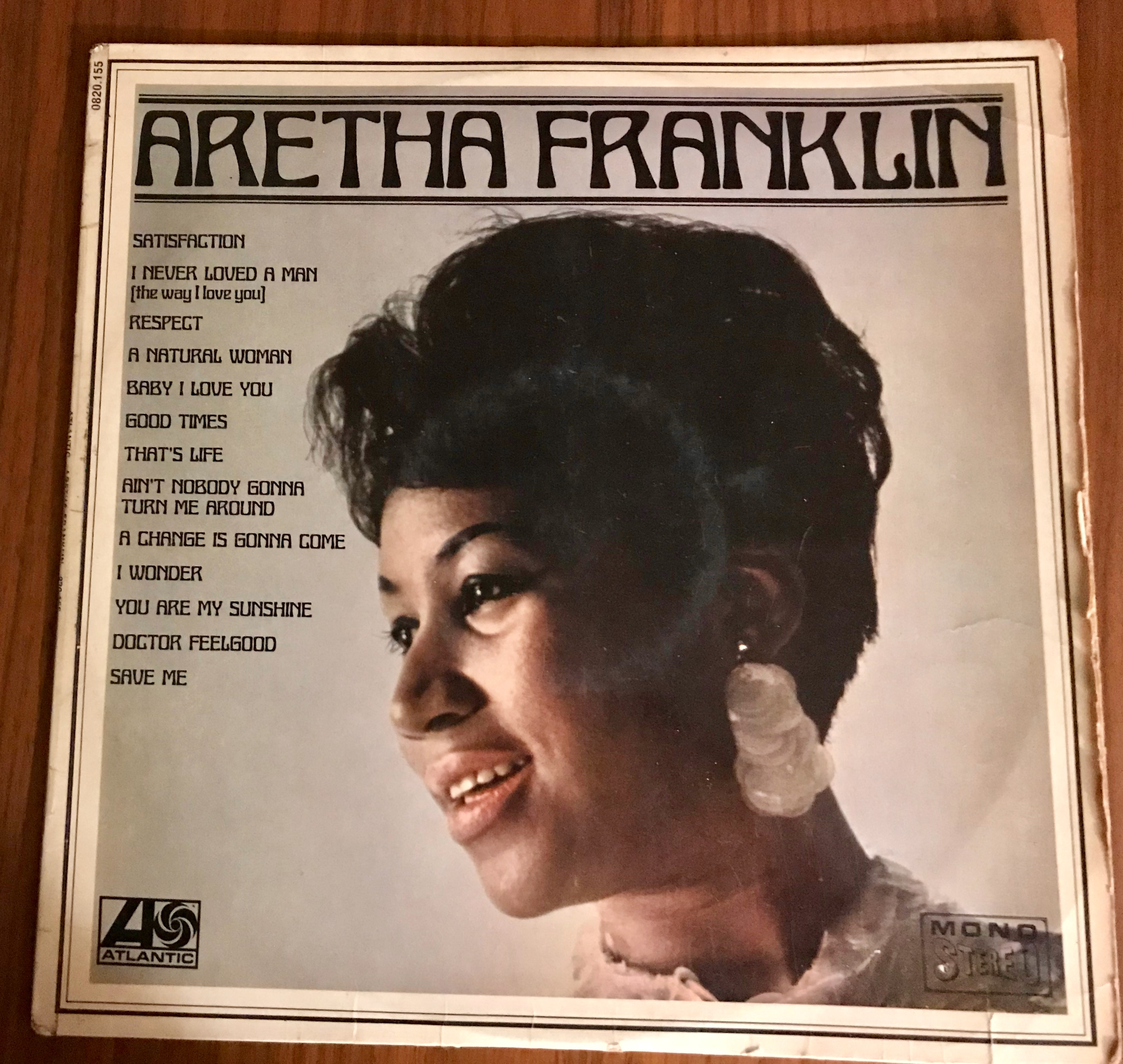 Disque vynile Aretha Franklin