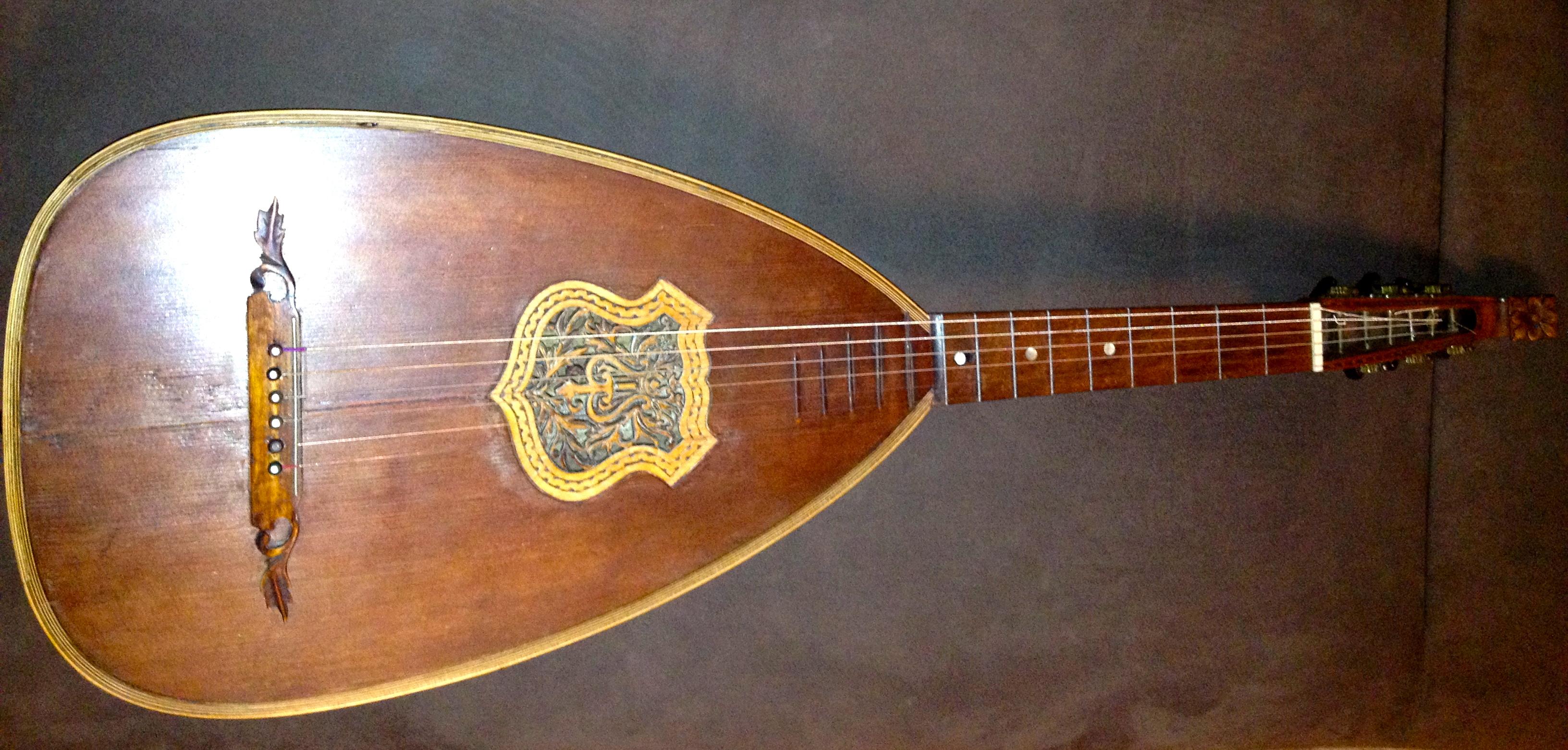 Instrument de musique Guitare Luth