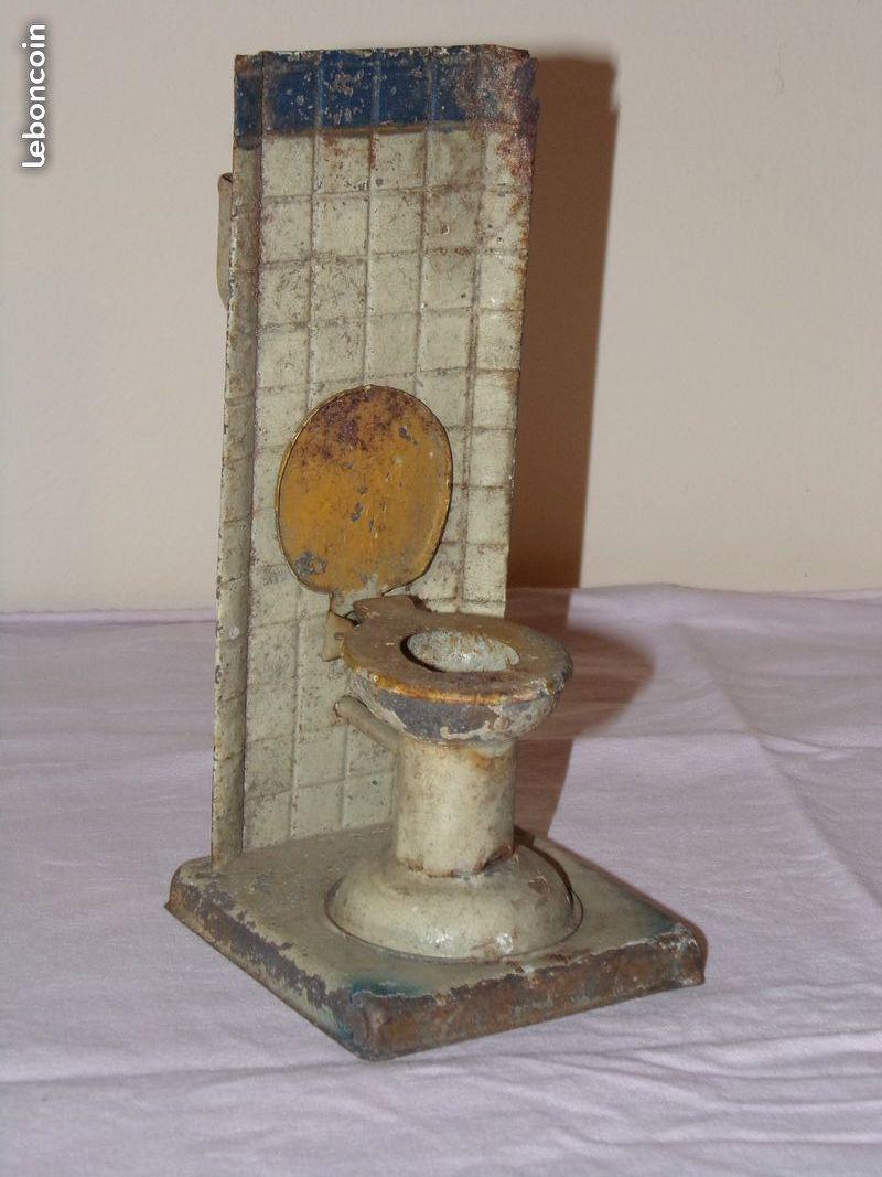 Jouet wc en métal