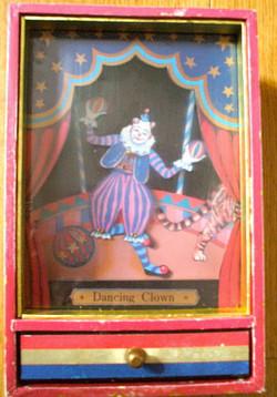 Boîte à musique Clown