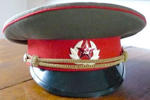 Casquette officier de l'ex armée soviétique