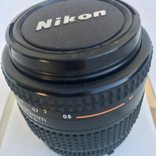 Objectif Nikon AF nikkor