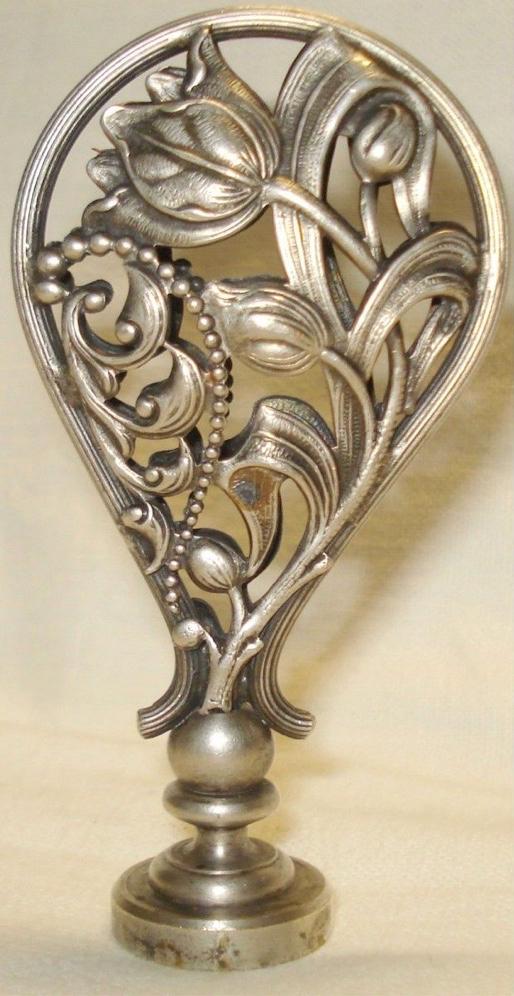 Sceau tampon ancien art nouveau 1900 H 8