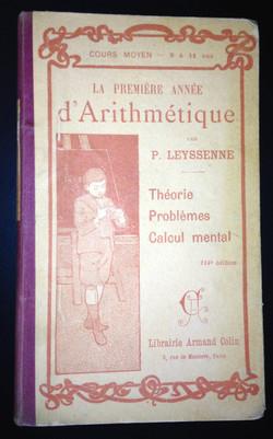 Livre scolaire Arithmétique