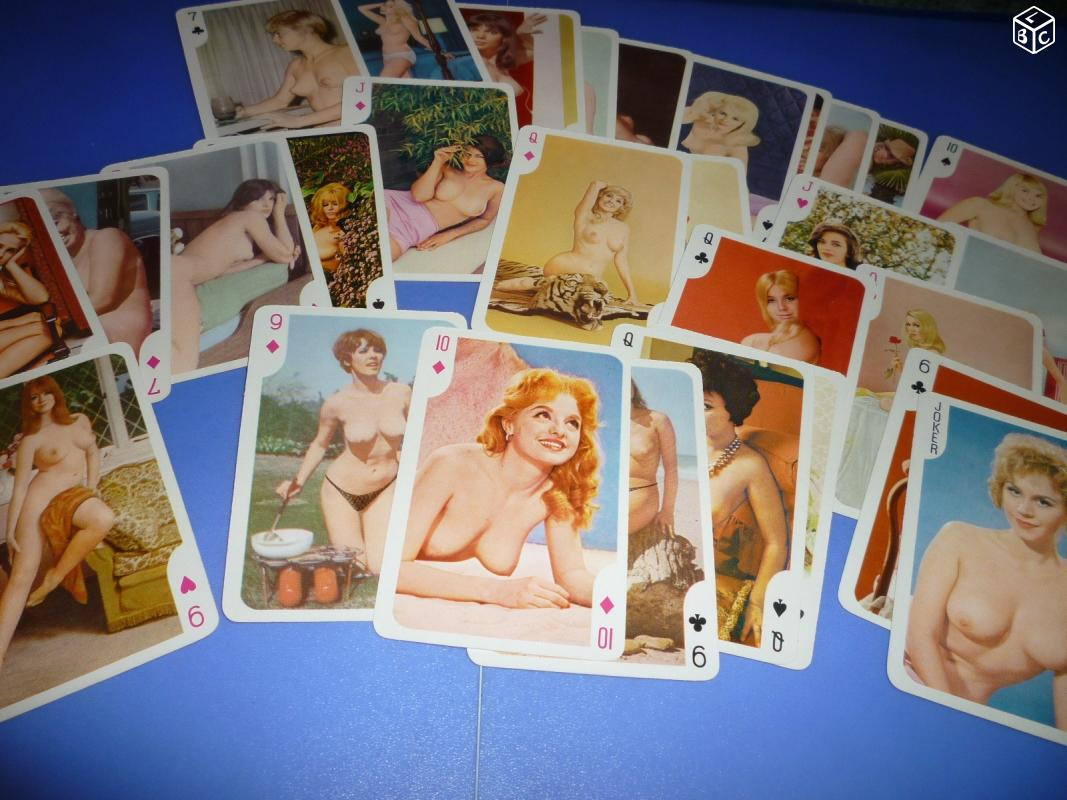 Jeu de carte pin Up