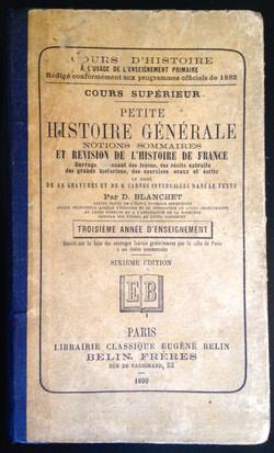Livre scolaire Histoire général