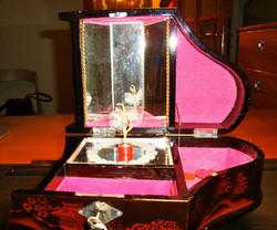 Boîte à bijoux musical